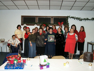 Ladies Class Meeting - Christmas Party