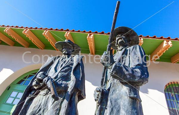 Wyatt Earp & Doc Holliday Statues in Tucson