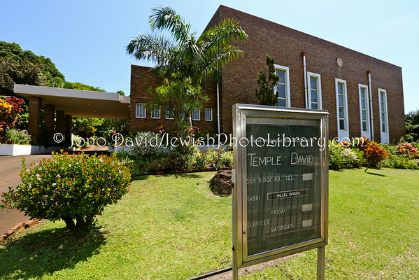 SOUTH AFRICA, KwaZulu-Natal, Durban. Temple David, Durban Progressive Jewish Congregation (3.2013)