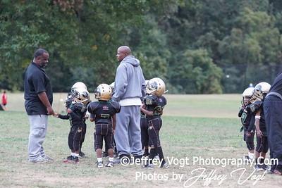09-25-2012 Montgomery Village Sports Association Tiny Mite Chiefs vs Rockville Cowboys, Photos by Jeffrey Vogt Photography