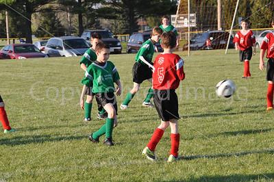 Princeton Youth Soccer League Games, April 17, 2012