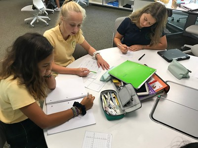 Eighth Grade Math in Action Lesson