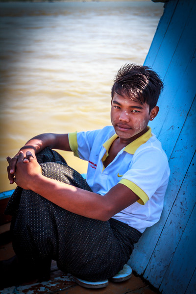 Boat Ride on the Irrawaddy River