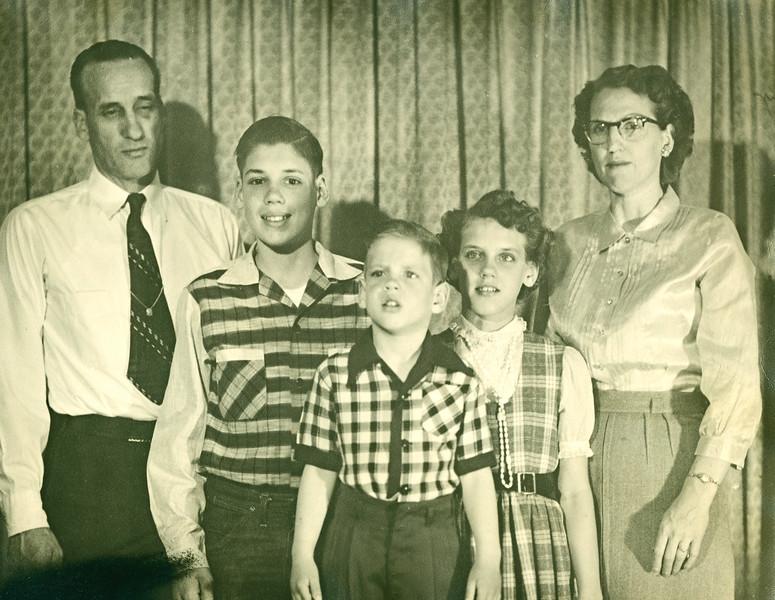 George, Duane, Jim, Karen, Betty Bloom