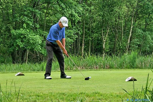 Golf - Joueurs aux Bordes