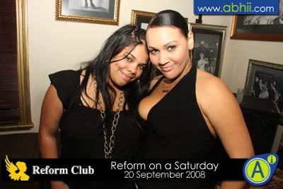 Reform - 20th Spetember 2008