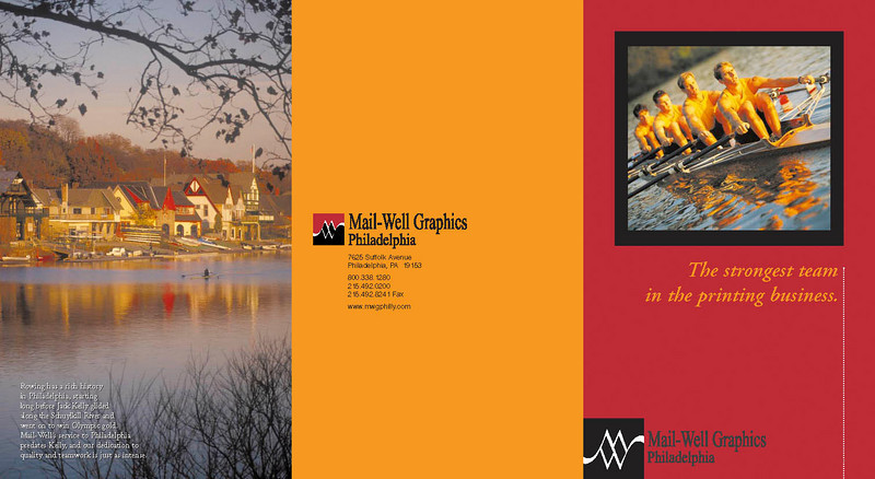 Image brochure for a printing company. We did the writing and design.