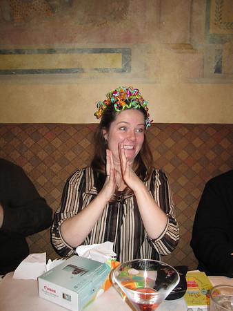 Meg's 27th Birthday Dinner