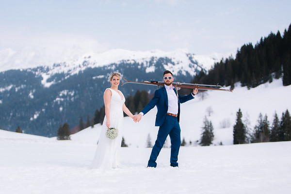 Bertille & David Wedding La Clusaz