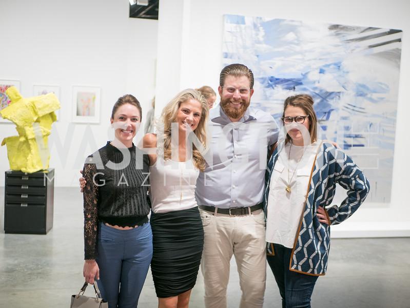 Laura Galaida, Molly Segal, Art Basel, Miami Beach, December 2018. Photo by Ben Droz.