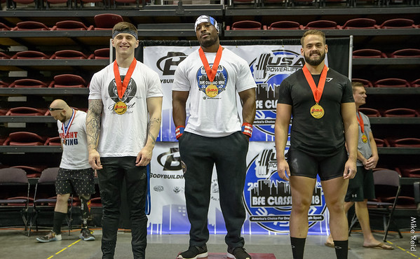 Powerlifting Meet at Bodybuilding.com event June 2018