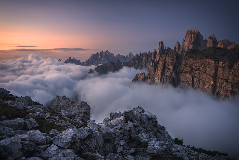 Awakening to the beauty of the Dolomites