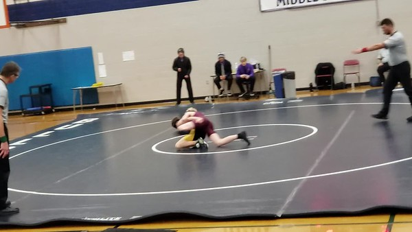 Carson wrestling January 2020