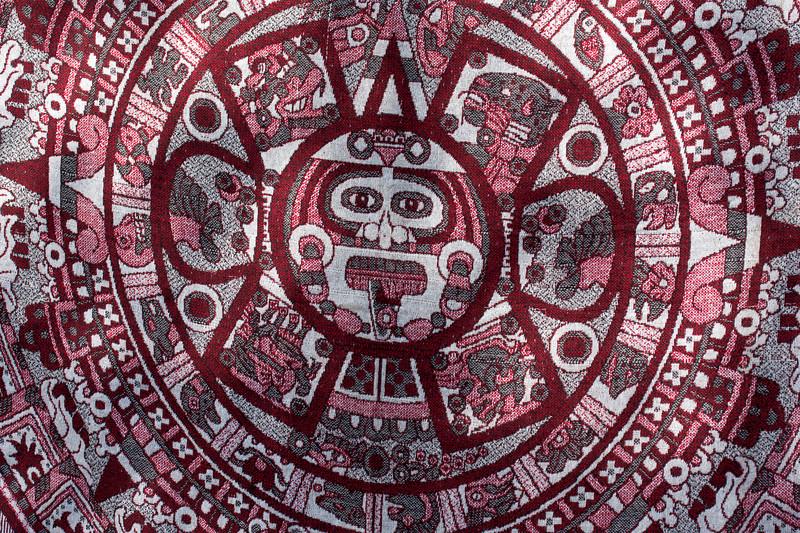 Souvenir tapestry in Chichen Itza