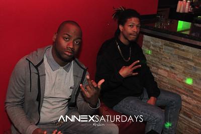 Annex Saturdays Jan 4th