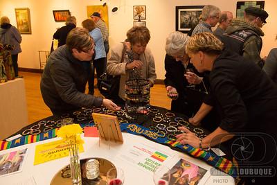 Bellevue art gallery opening