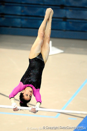 Photo Gallery: UF Gymnastics vs. LSU, Link to Pink, 1/29/10