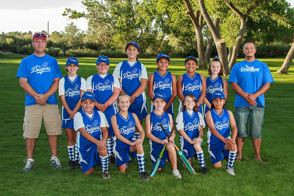 Lady Dodgers 2012