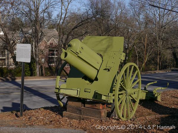 AL Post 3 - Greenville, SC - Artillery