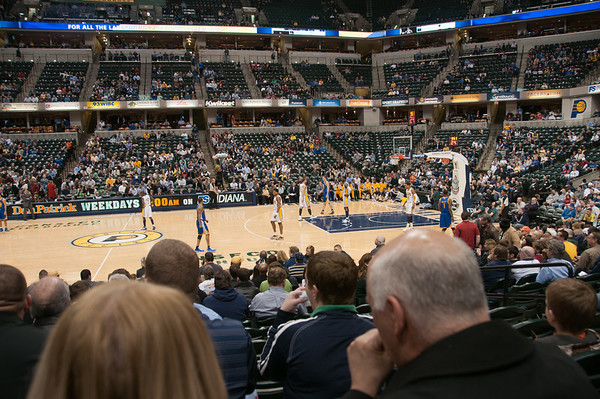 Pacers v. Warriors - March 1, 2011
