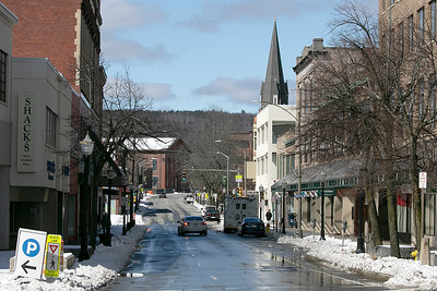 Main Street Fitchburg, March 24, 2020