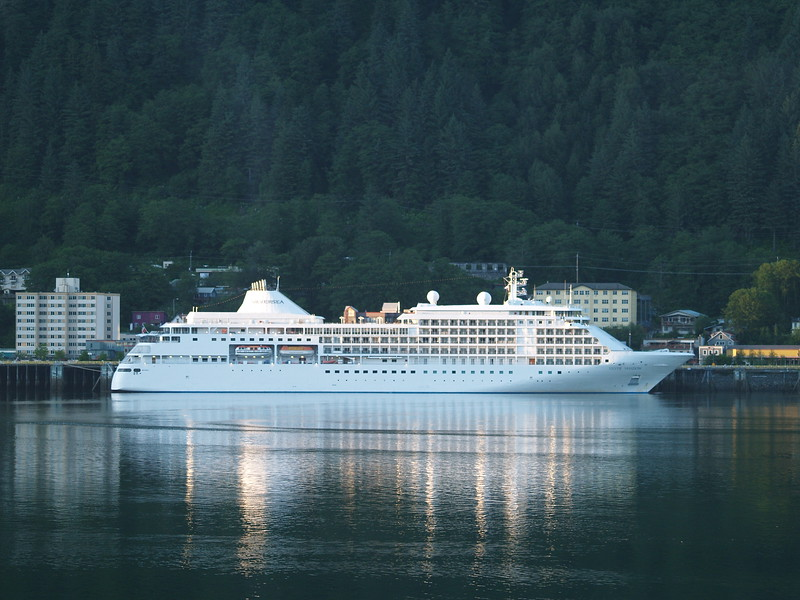 Cruise dock at Juneau