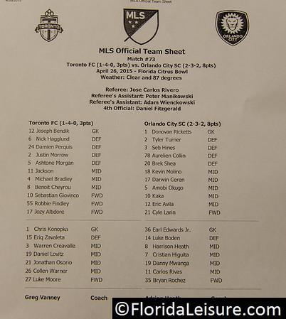 MLS - Orlando 0 Toronto 2
