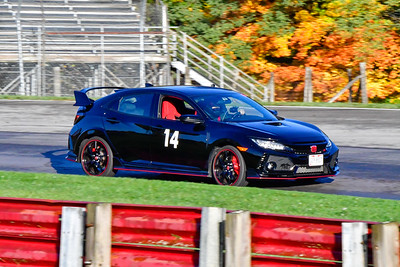 2020 OVR SCCA Oct 16 MO TrackDay Blk Honda Civic 14