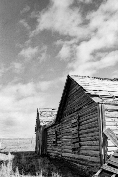 Photographs at the old Sanderson property, a homestead ranch in southern Broadwater County, Montana.