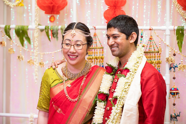 Mei-Hsin Karthik Wedding