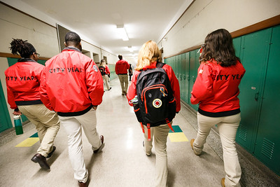 In School Service Photos - City Year Detroit