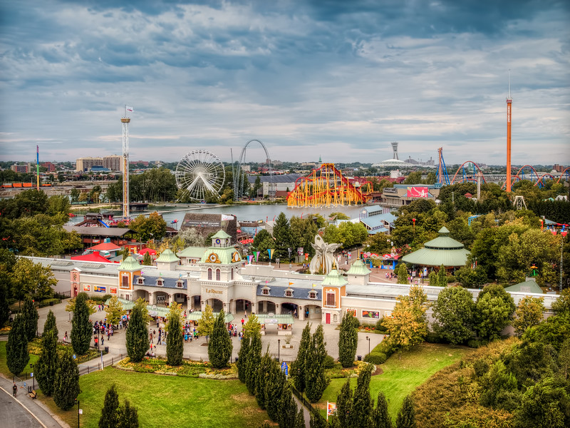 Travel Photography Blog - Canada. Montreal. Park La Ronde