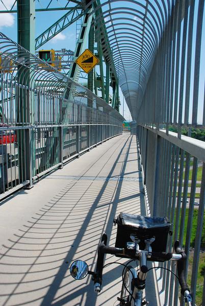 Piste cyclable du pont Jacques-Cartier