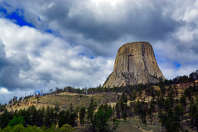 Devils Tower NP and Grand Tetons NP, Wyoming