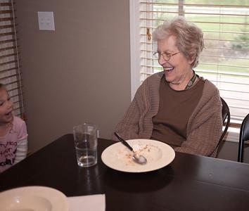 2012 05 Elizabeth and Great Grandma Lee