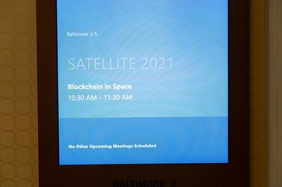 Blockchain in Space