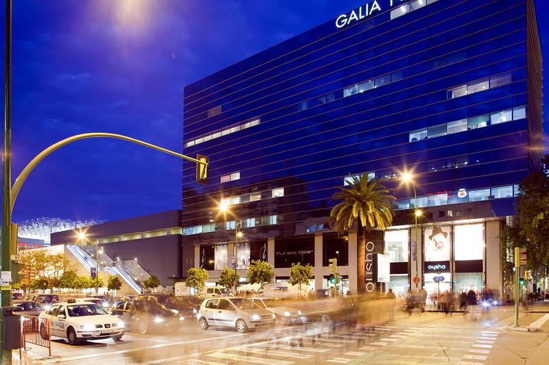Galia Nervion Building, Seville, Spain