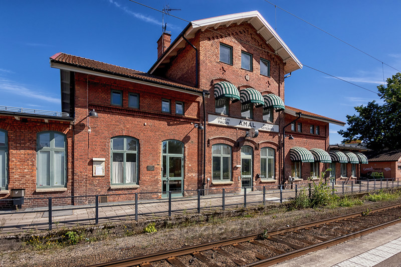 Åmål Train Station