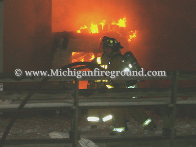 12/16/05 - Delhi Twp house fire, 3369 Wirt Rd