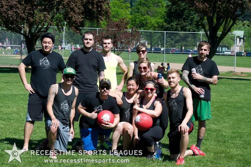 Recesstime Sports Leagues Portland Kickball Spring 2013 Dodgeball Bowling Ping Pong Mushball - 188