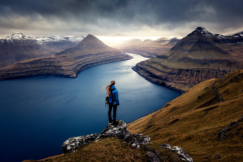 Funningur faroe islands epic view fjord eysturoy person travel landscape photography hori 2.jpg