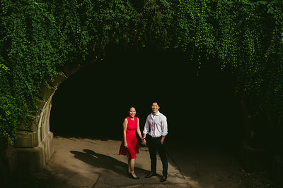 Linda + James // NYC Central Park Engagement