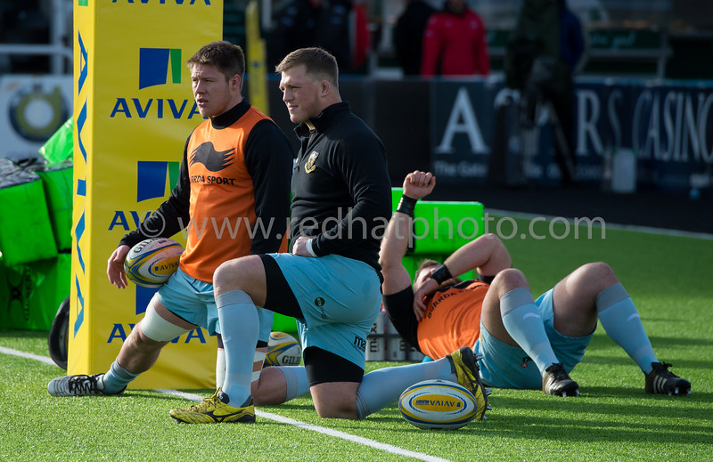Newcastle Falcons vs Northampton Saints, Aviva Premiership, Kingston Park, 21 February 2015
