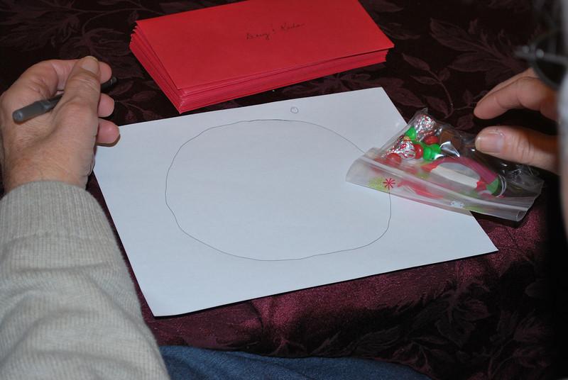 Draw a circle......