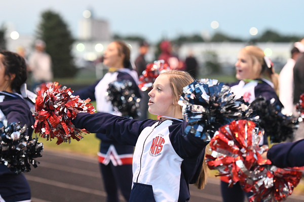 Cheer at Varsity Football vs Waverly