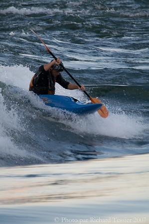 Kayak en eau vive