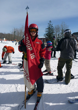 Scout Skiing 2010