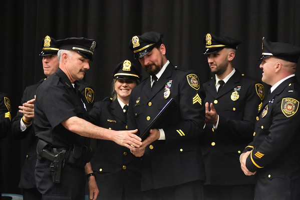 Pittsfield Police Dept. Promotional/Recognition Award Ceremony - 051519