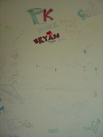 Justin's Walls 2006