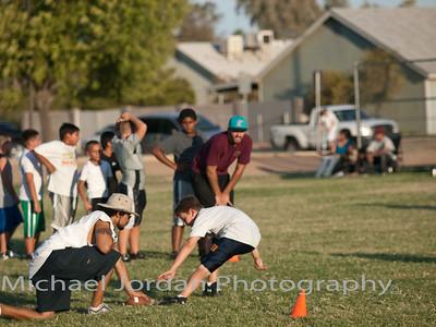 Spartans Football Summer Practice